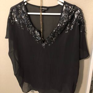 Express sheer top